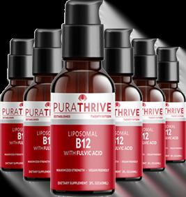 PuraTHRIVE Liposomal B12 x6
