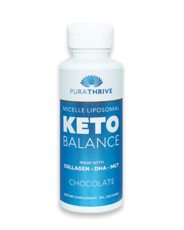 Liposomal KETO Balance - 225ml Chocolate Flavour by PuraTHRIVE