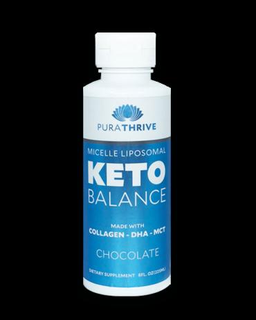 Liposomal KETO Balance - 225ml Chocolate Flavour by Purality Health