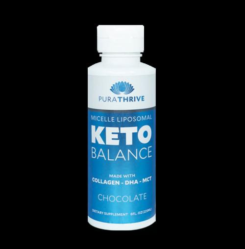 Liposomal KETO Balance - 225ml Chocolate Flavour by PuraTHRIVE