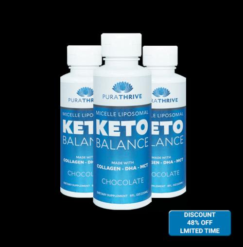 Liposomal KETO Balance x3 - 225ml Chocolate Flavour