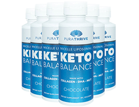 Liposomal KETO Balance x6 - 225ml Chocolate Flavour by Purality Health - SAVE 20%