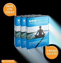 KORfactor™ Glutathione 3-pack