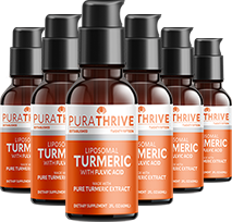 Liposomal Turmeric x6 60ml - SAVE 20% by PuraTHRIVE